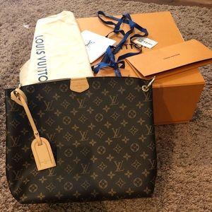 Authentic Louis Vuitton Graceful PM bag NWR